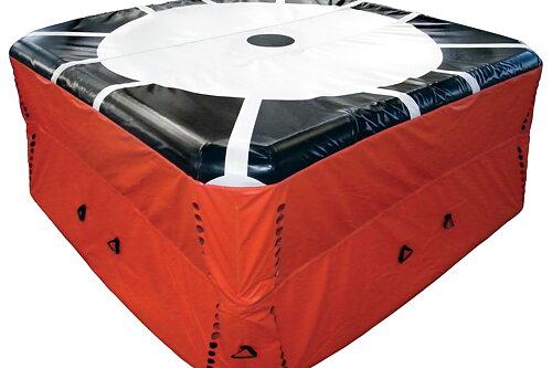 Vi er nå forhandler av Hoppeputer og Oppblåsbare telt  fra Losberger De Boer Vi har 2 utgaver av Hoppeputer, 16m og 23m Telt, Dekontaminerigs telt og Dekontamineringskabinetter i flere utgaver.